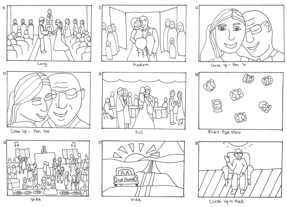 A Wedding Story - image 2 - student project