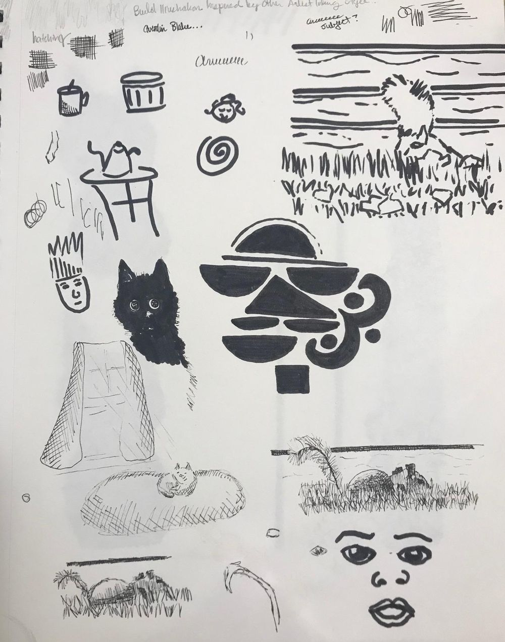 Practicing with ink and lines - image 4 - student project