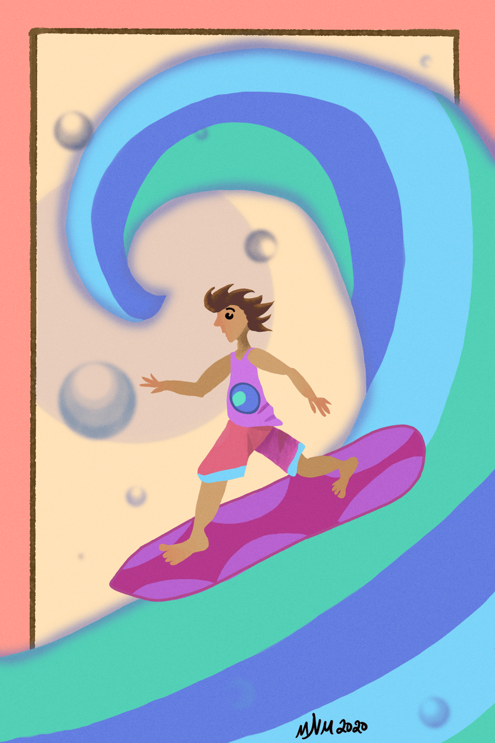 Surfer dude - image 1 - student project