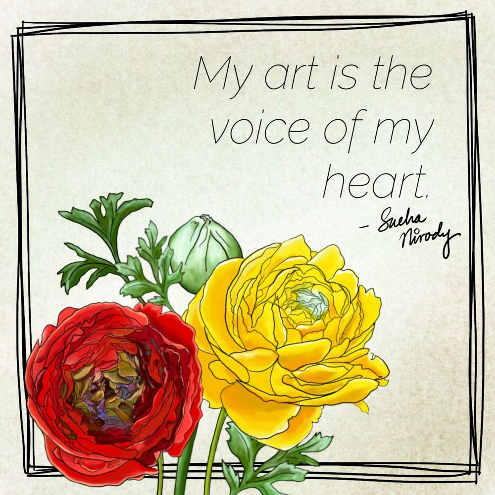 My art is the voice of my heart - image 1 - student project