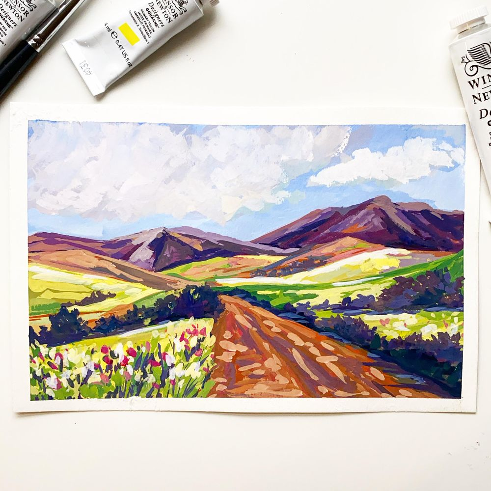 Rolling hills - image 1 - student project