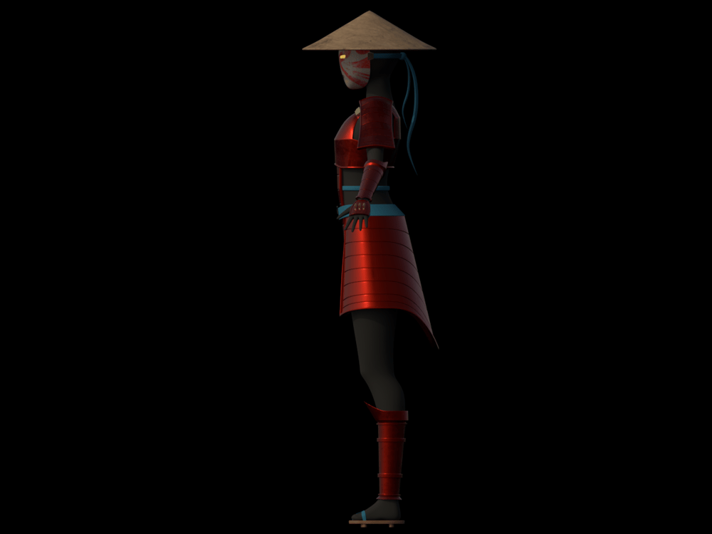onna bugeisha model - image 3 - student project