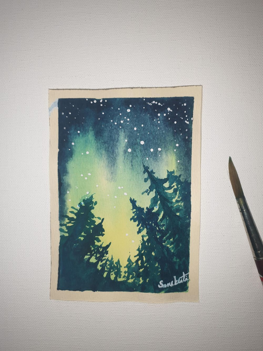 Northern lights - image 2 - student project