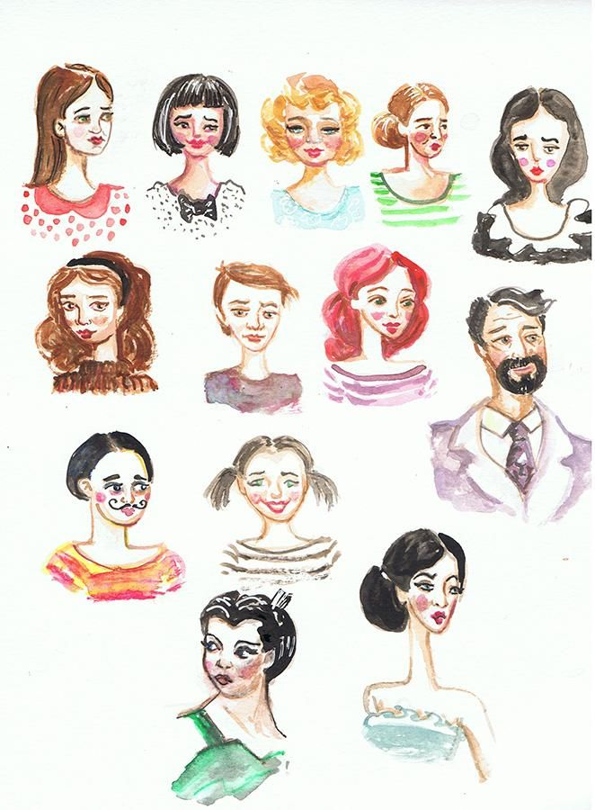 Little faces - image 2 - student project