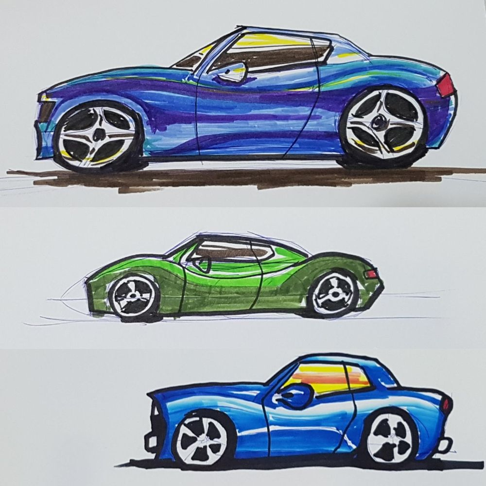 Designing cars, starting out! - image 1 - student project