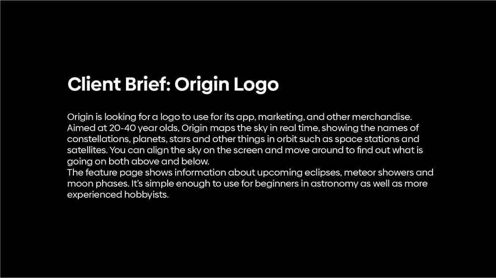 Origin Logo - image 1 - student project