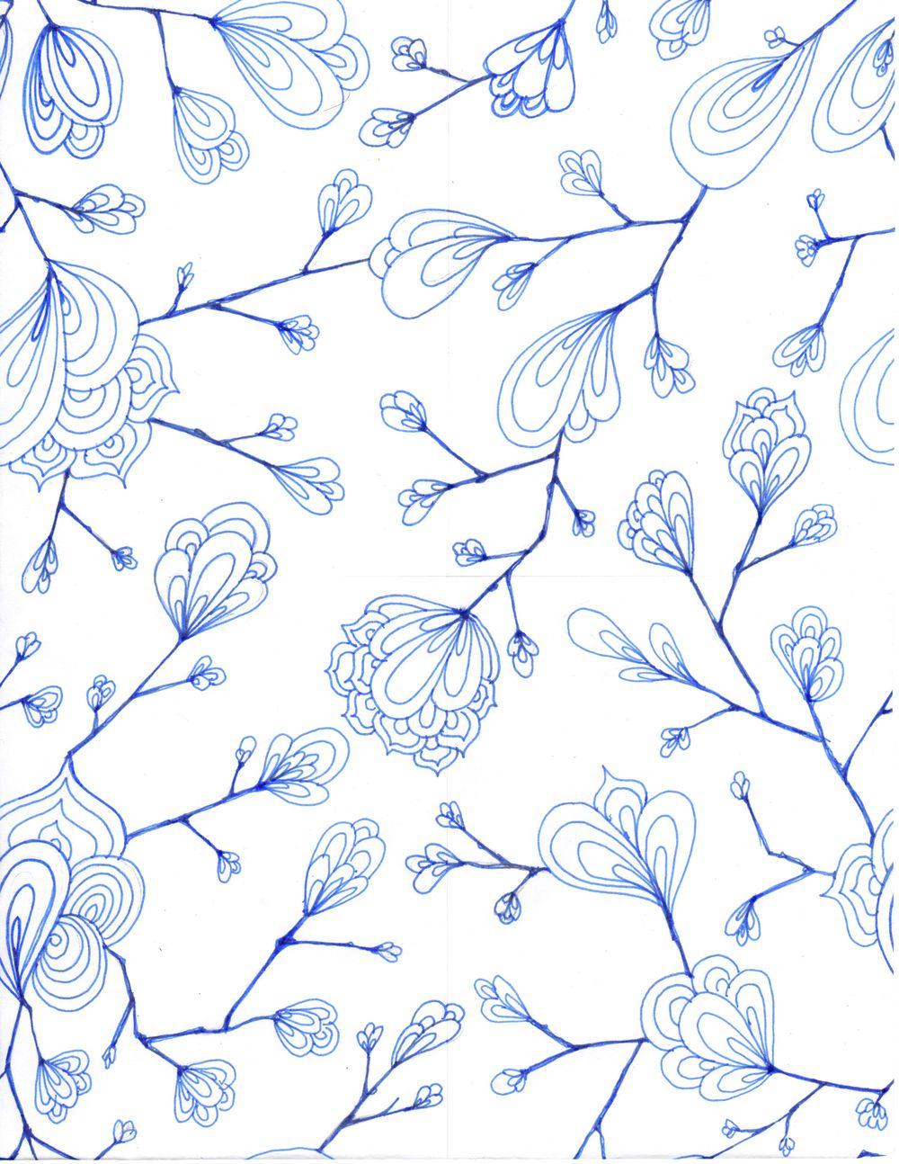 pen flowers - image 1 - student project