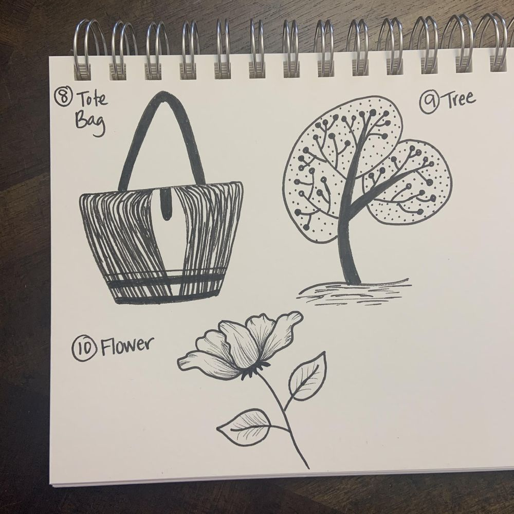 50 Doodles - image 10 - student project
