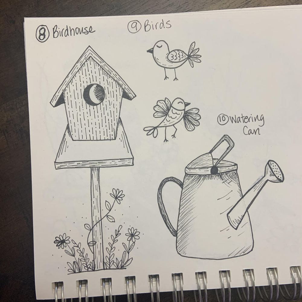 50 Doodles - image 3 - student project