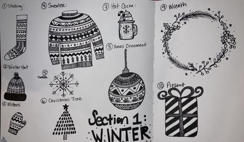 50 Doodles - image 1 - student project