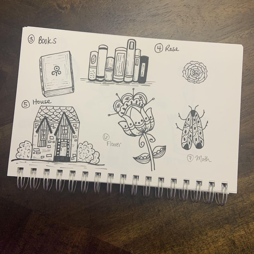 50 Doodles - image 9 - student project