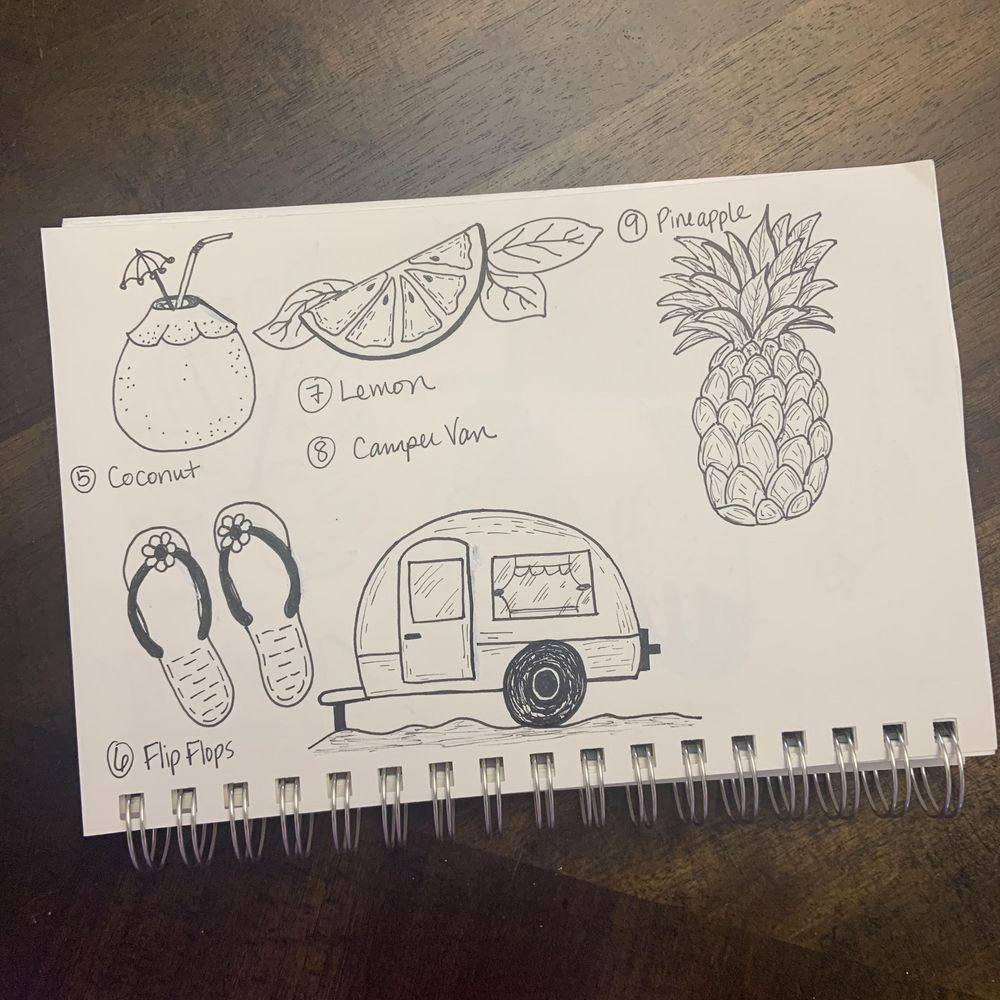 50 Doodles - image 5 - student project