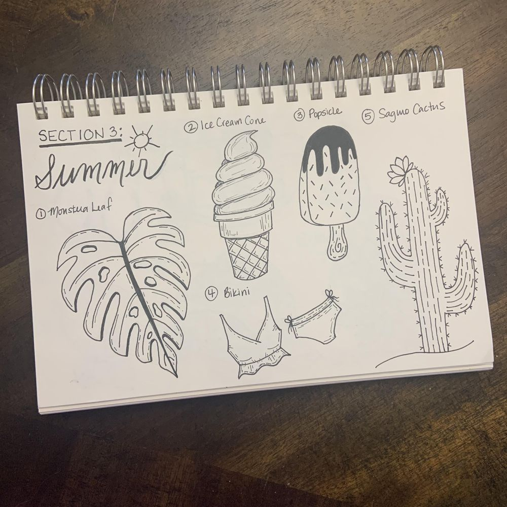 50 Doodles - image 4 - student project