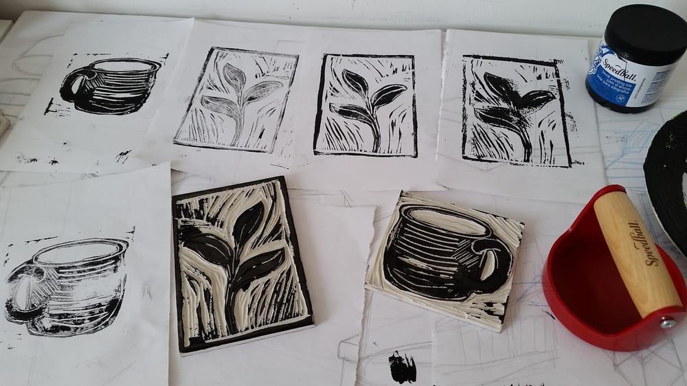 Linoleum Prints - image 3 - student project