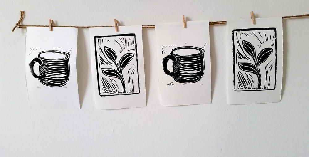 Linoleum Prints - image 6 - student project