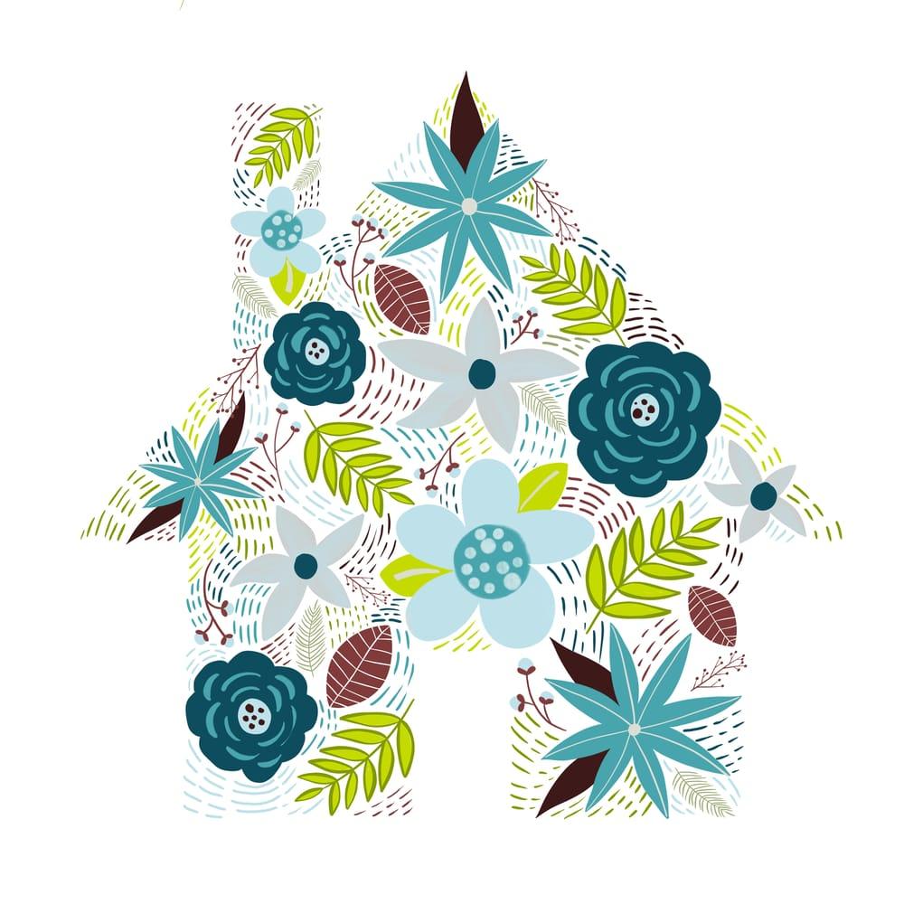 Modern Floral Illustration - image 2 - student project