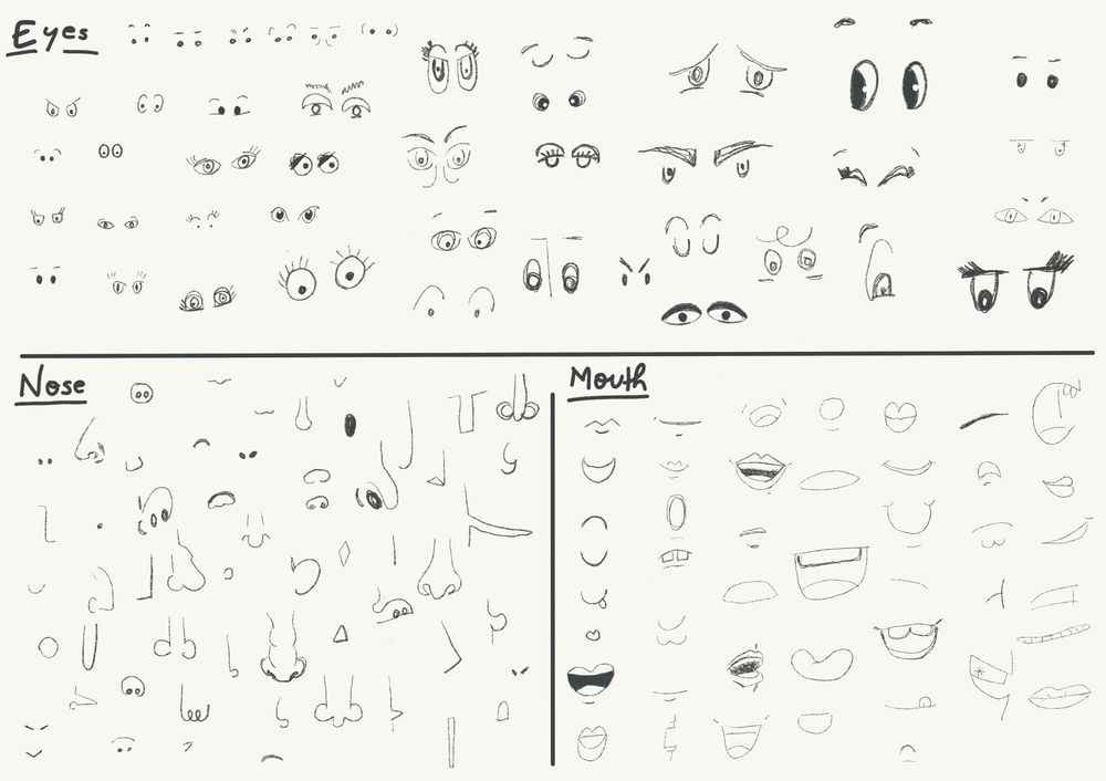 Drawing Expressive Faces - image 1 - student project