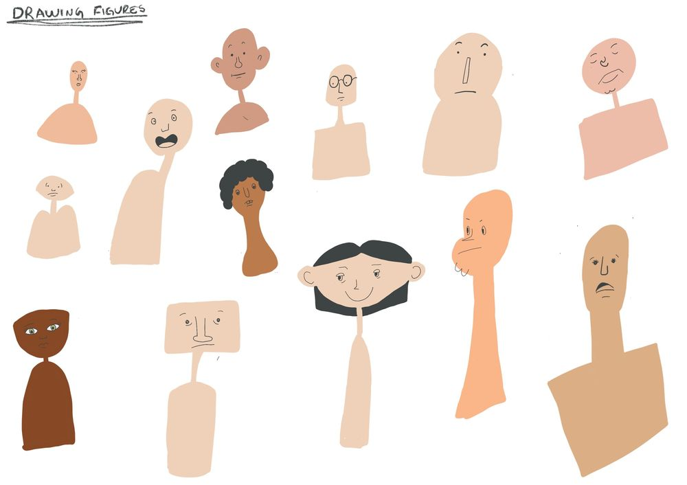 Drawing Expressive Faces - image 2 - student project