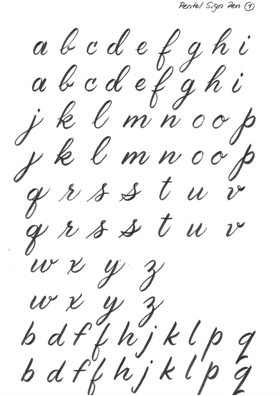 Brush Lettering Beginner - image 6 - student project