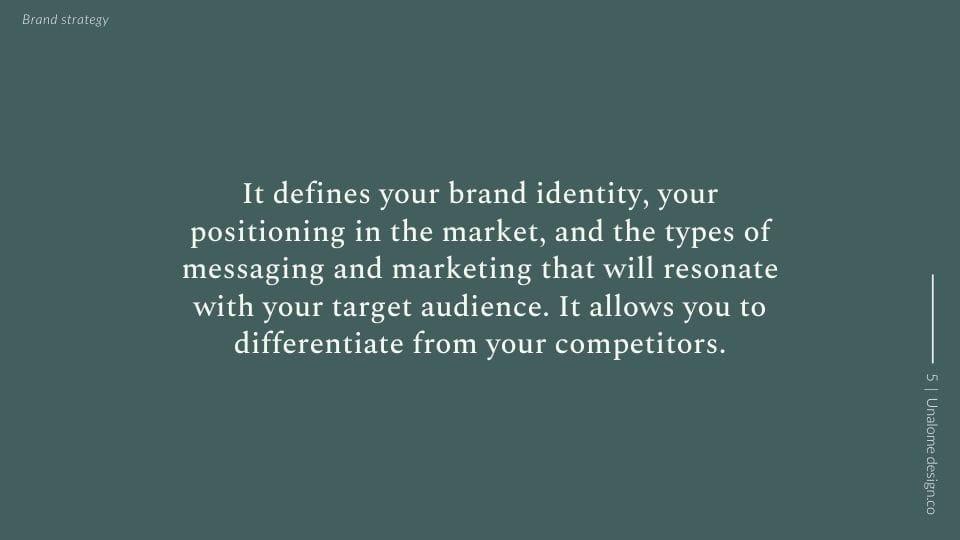 Brand Strategy Presentation - image 5 - student project