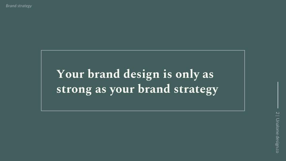Brand Strategy Presentation - image 2 - student project