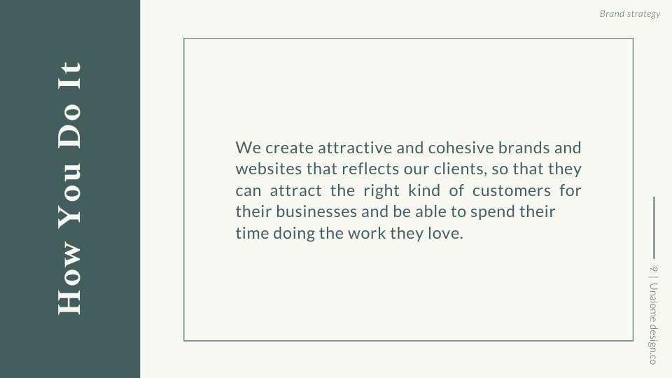 Brand Strategy Presentation - image 9 - student project
