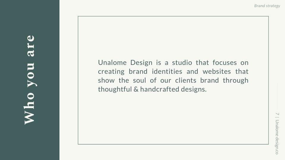 Brand Strategy Presentation - image 7 - student project