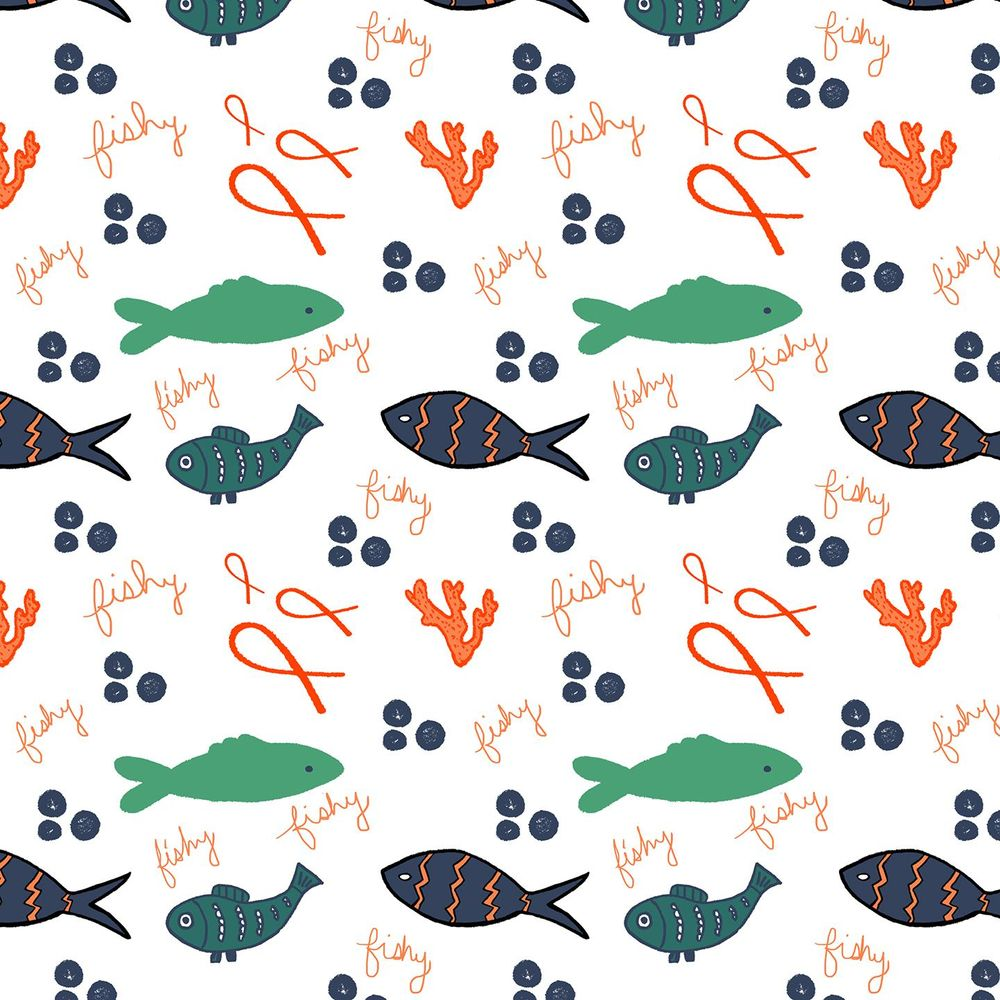 Fish Pattern - image 1 - student project