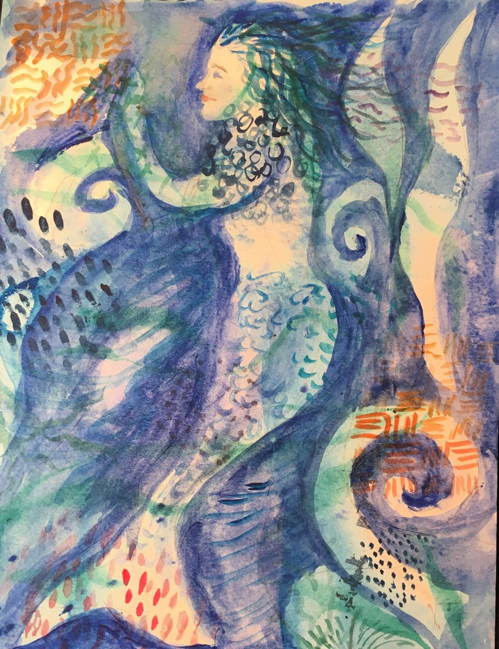 layered mermaid - image 1 - student project