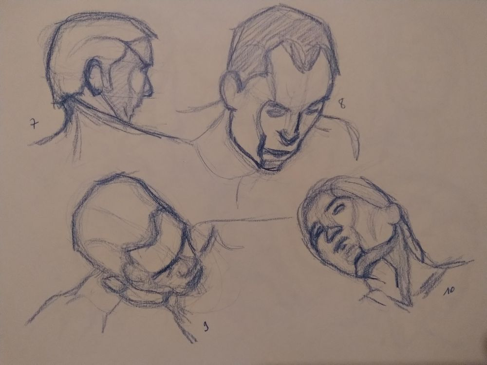Drawing the head 1 - image 2 - student project