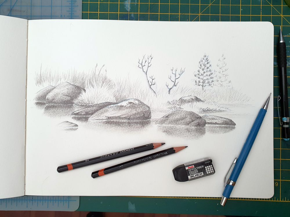 Rock Sketches - image 1 - student project