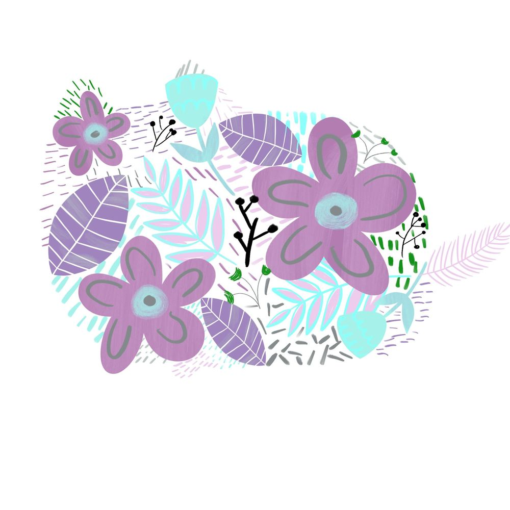 Pusheen floral - image 2 - student project