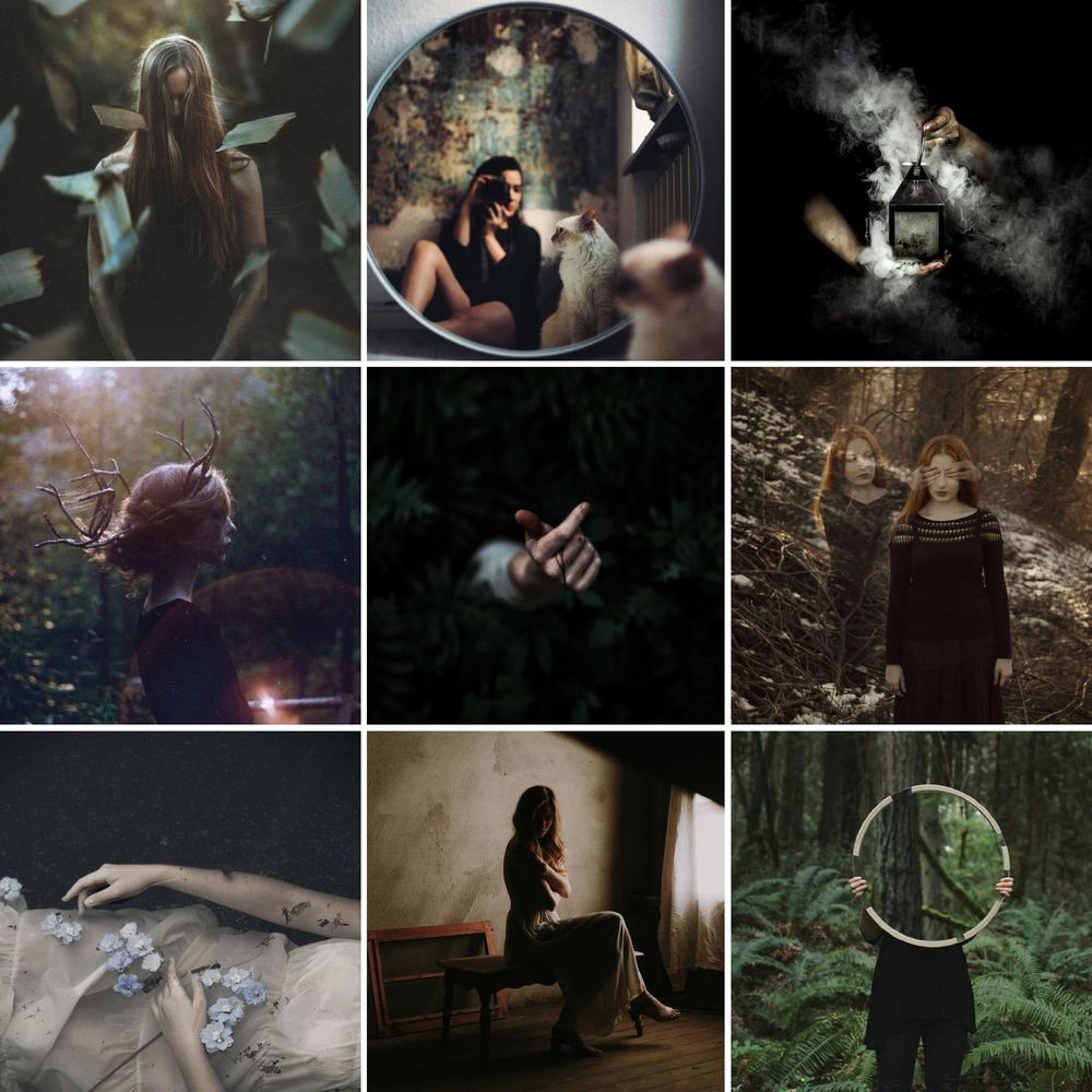 Ethereal & moody, Dark & campy - image 1 - student project