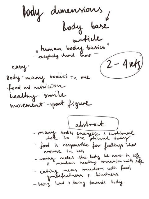 Body care - image 2 - student project
