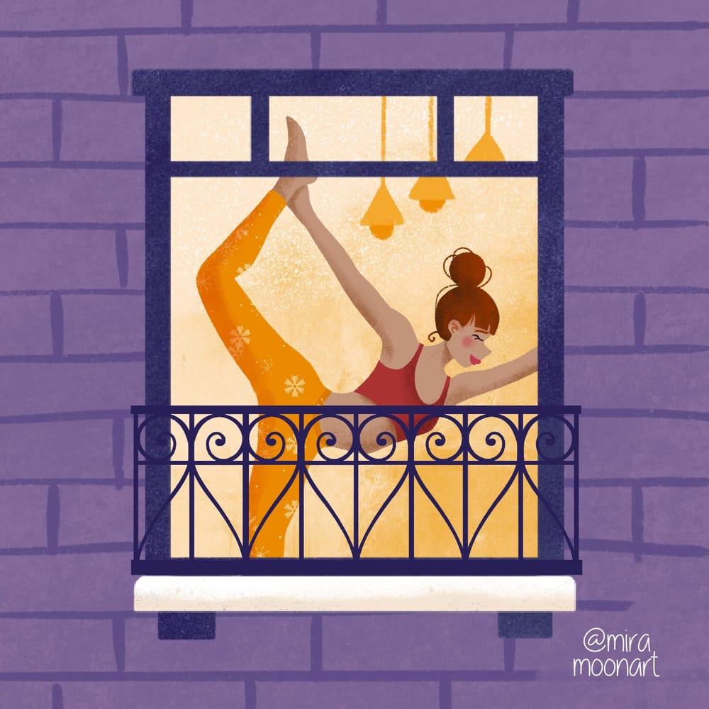 Yoga girl - image 4 - student project
