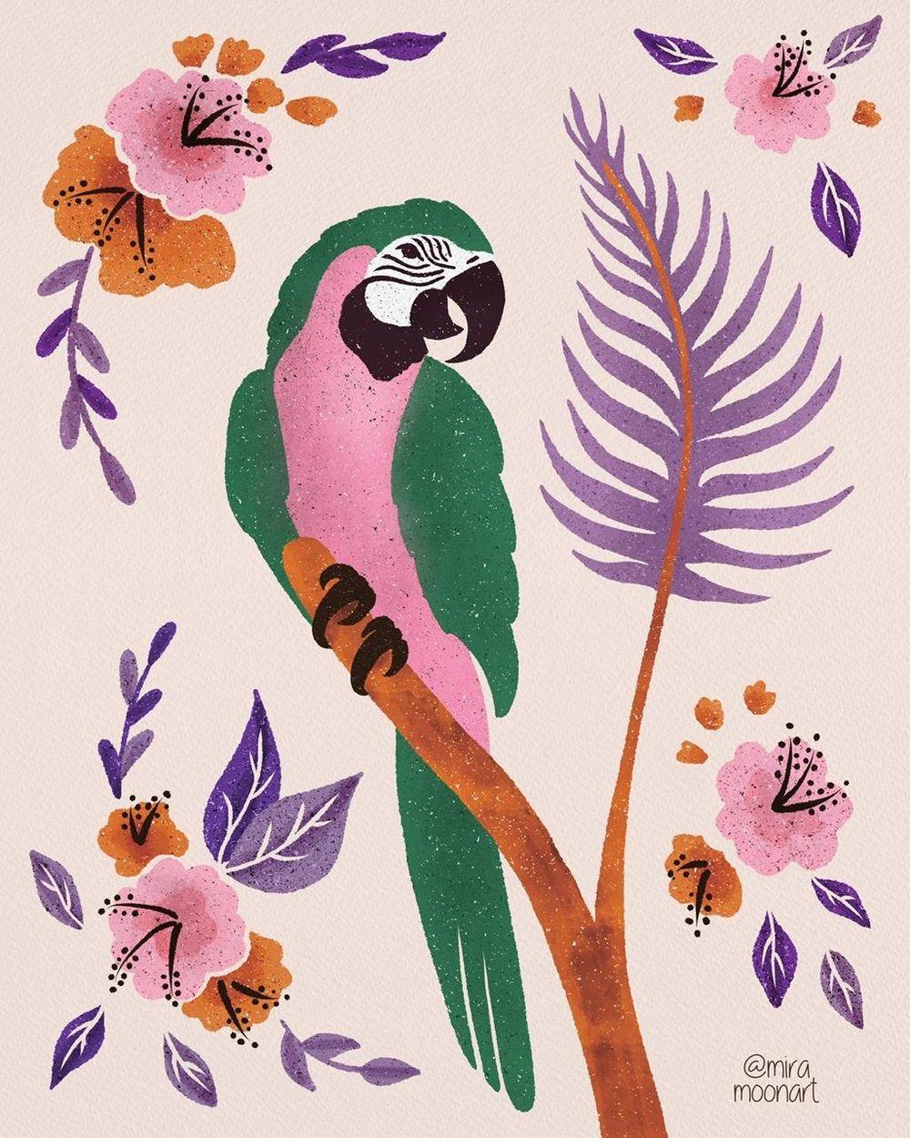 Fun Parrots - image 5 - student project