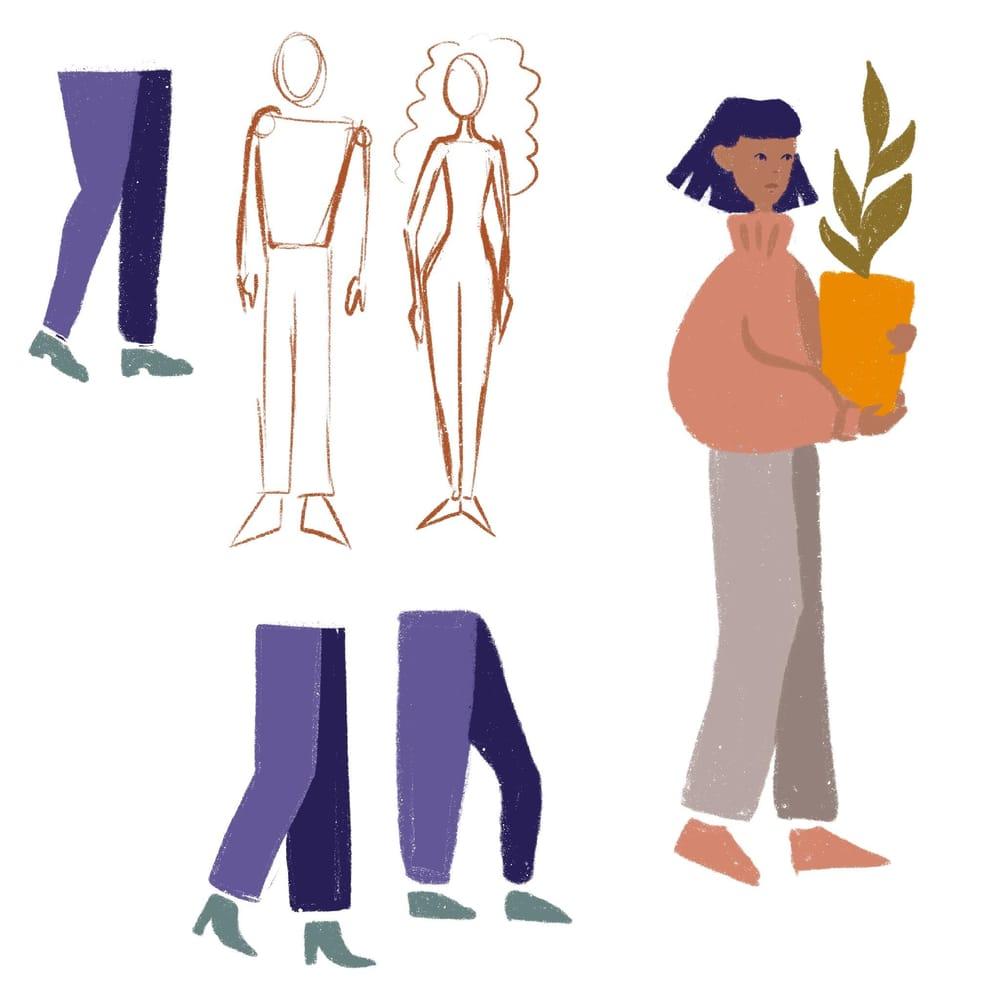 Yoga girl - image 3 - student project