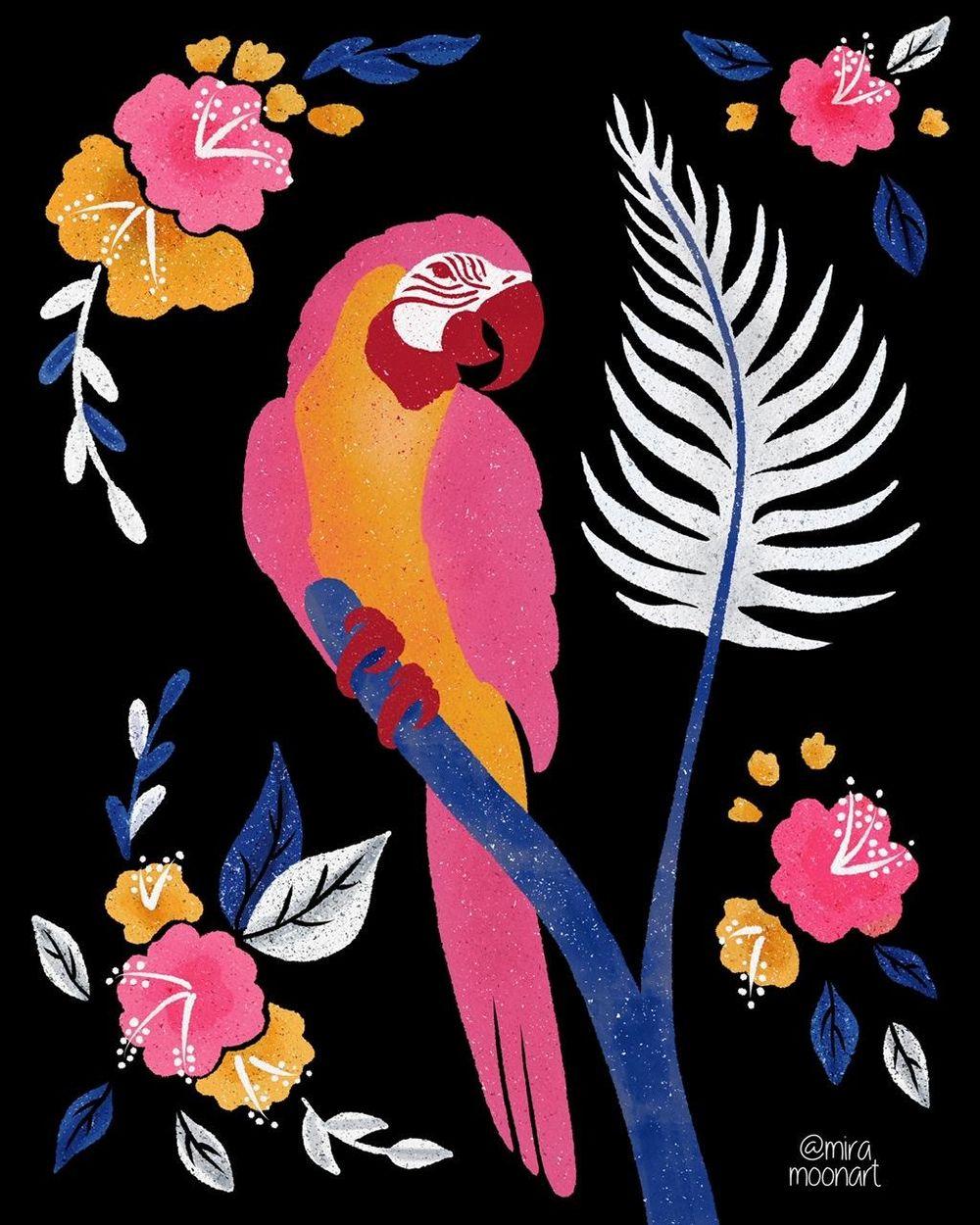 Fun Parrots - image 4 - student project