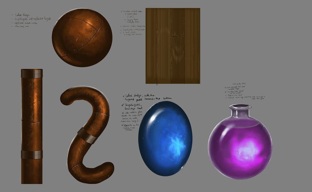 Sword & Shield Concept Art - image 1 - student project