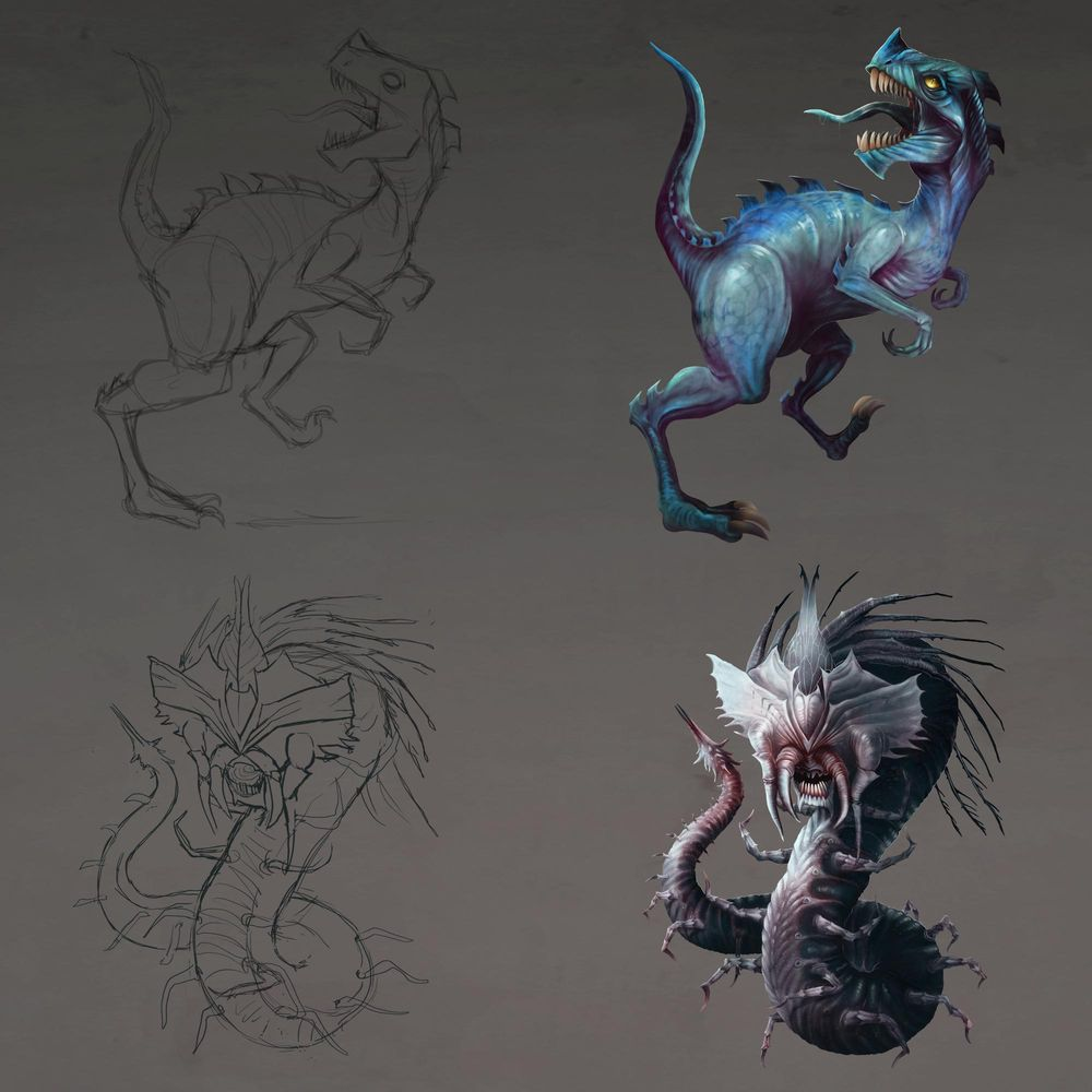 Creature Designs - image 1 - student project