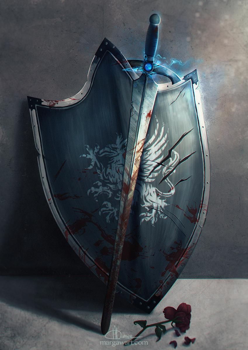 Sword & Shield Concept Art - image 2 - student project