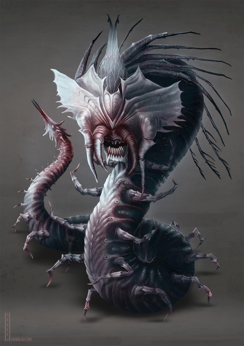 Creature Designs - image 3 - student project