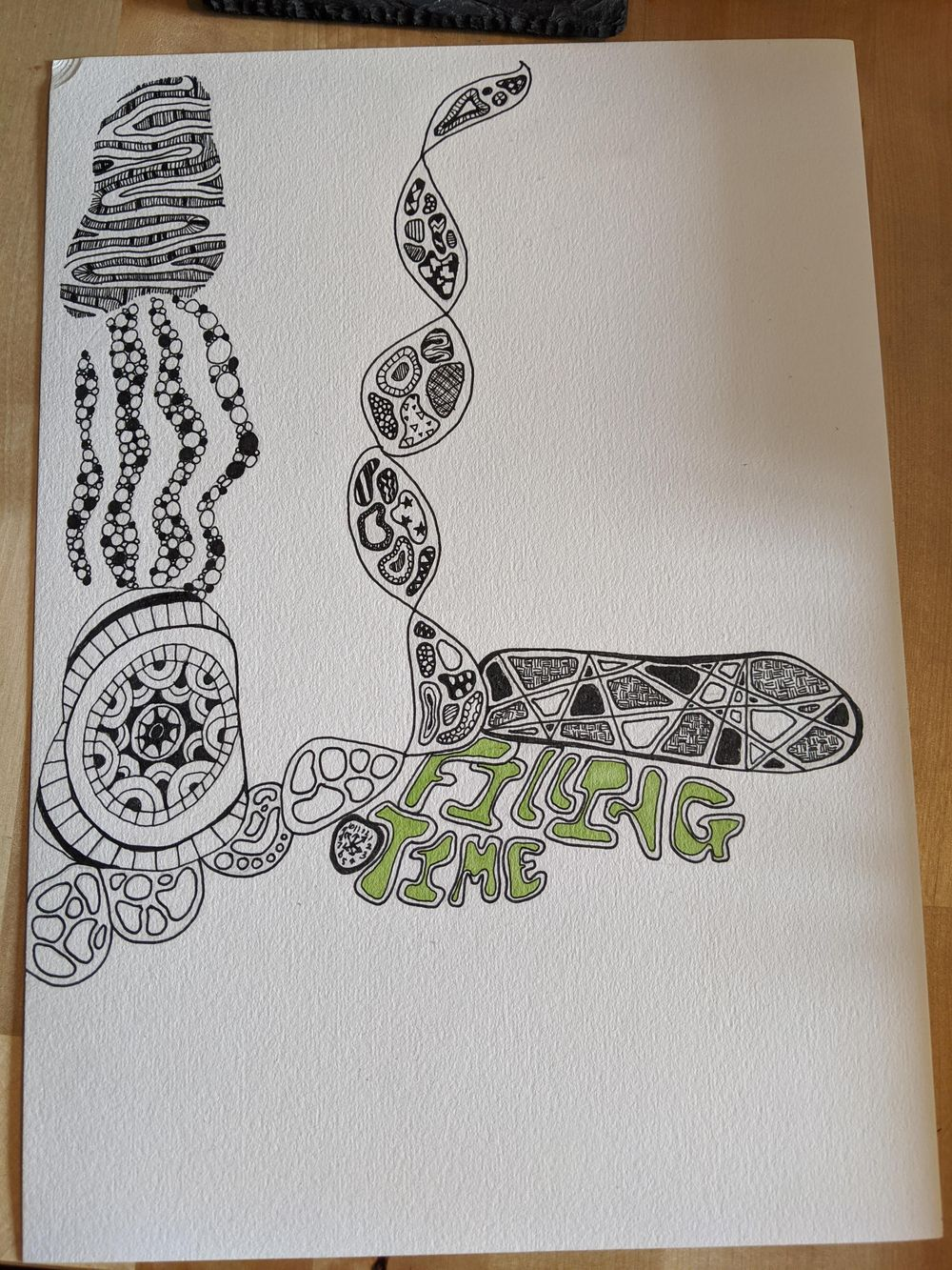 Abstract doodling progress Pictures - image 1 - student project