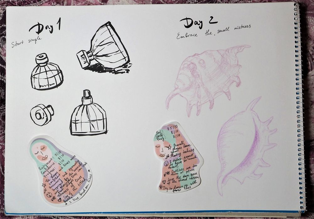 Building a drawing habit - image 1 - student project