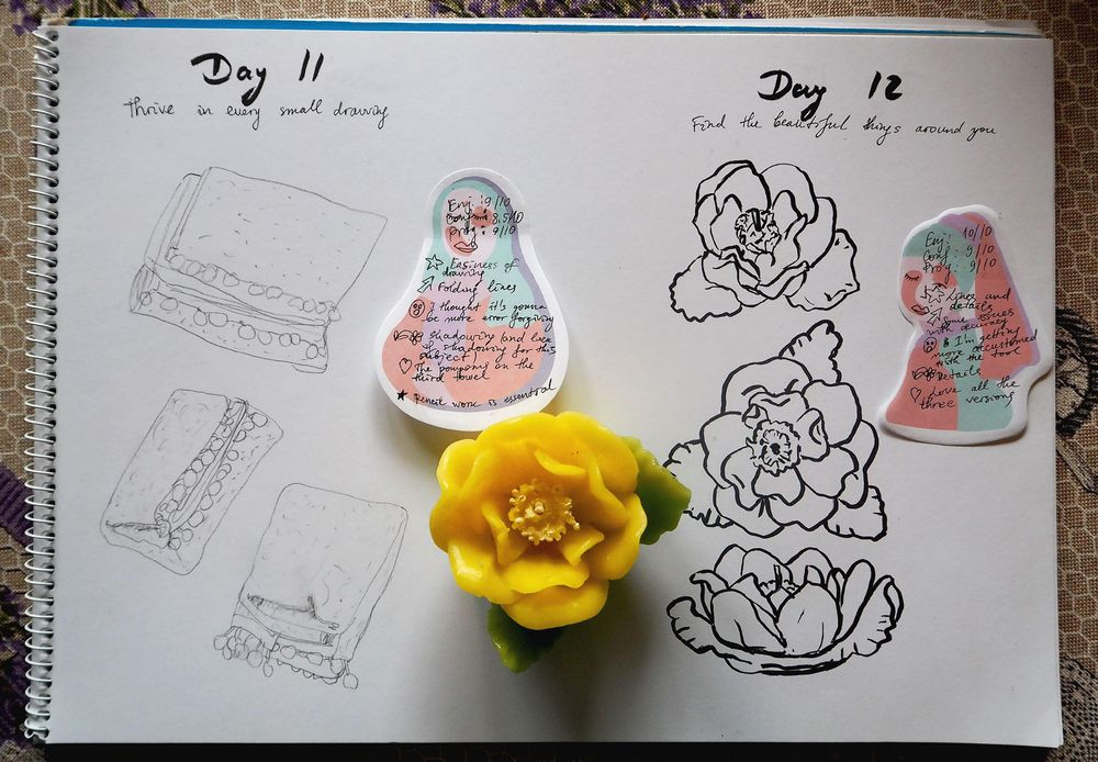 Building a drawing habit - image 6 - student project