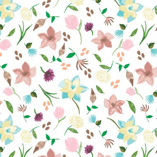 Watercolor patterns - image 8 - student project