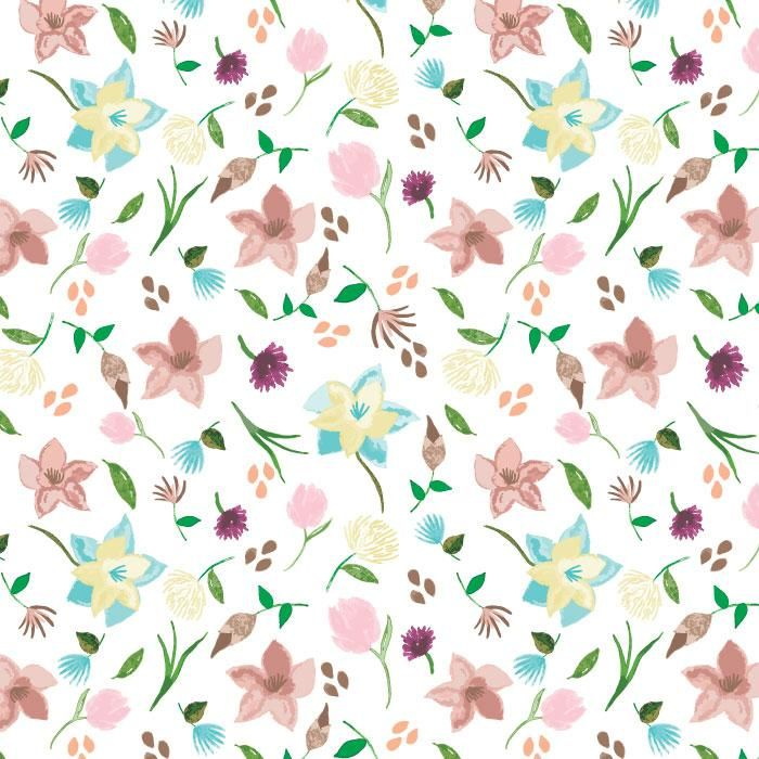 Watercolor patterns - image 9 - student project