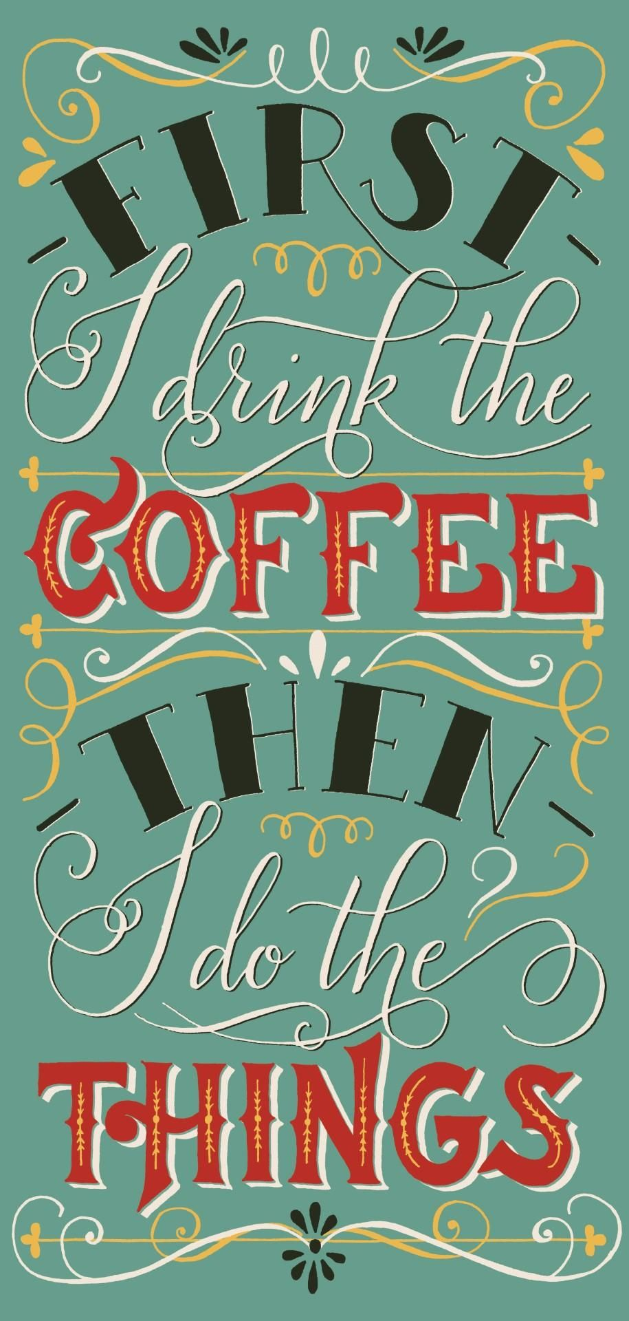 Vintage coffee quote - image 3 - student project