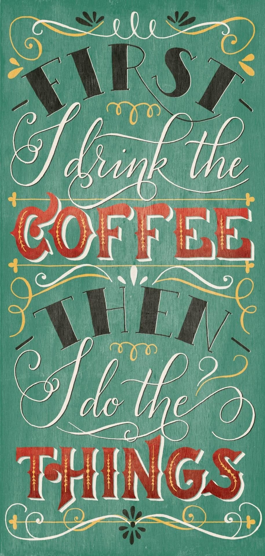 Vintage coffee quote - image 7 - student project