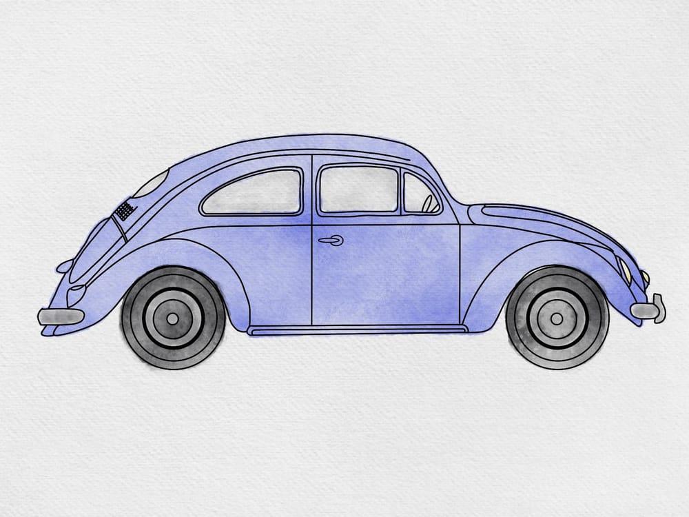 Sati's Watercolour VW - image 1 - student project